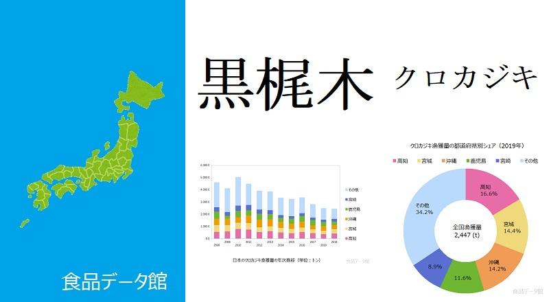 日本のクロカジキ漁獲量ランキングのアイキャッチ