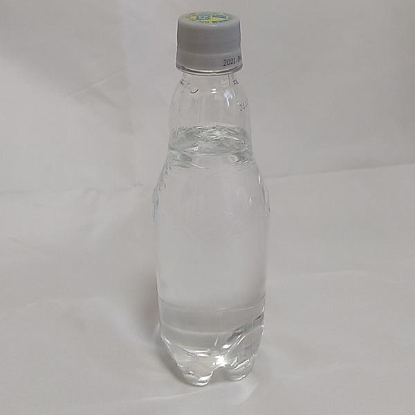 サントリー天然水スパークリング・ラベルレスボトルの単品ボトル画像