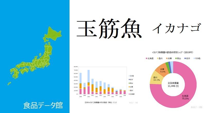 日本のイカナゴ漁獲量ランキングのアイキャッチ