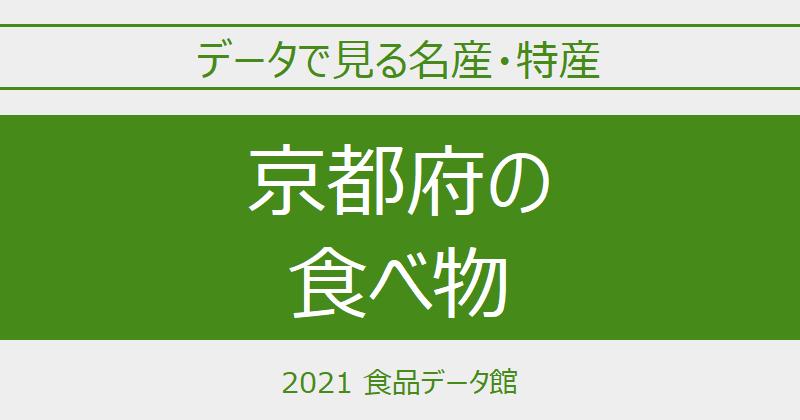 データで見る京都府の名産特産のアイキャッチ