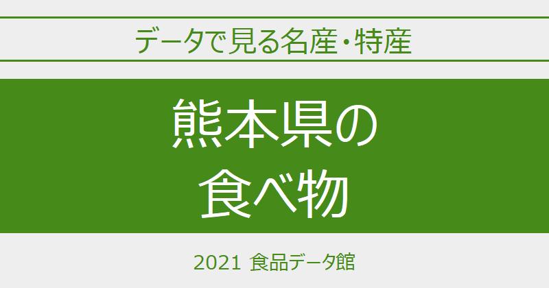 データで見る熊本県の名産特産のアイキャッチ