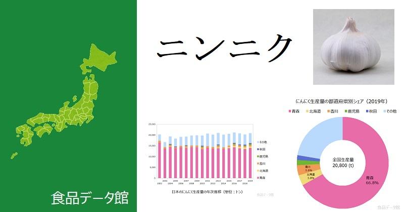 日本のにんにく生産量ランキングのアイキャッチ