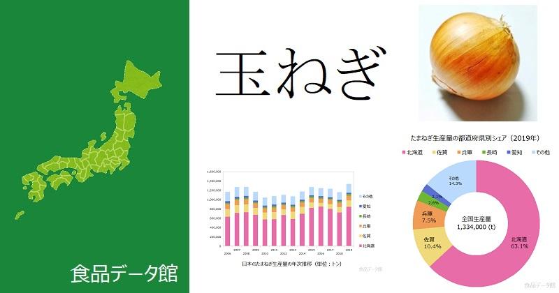 日本の玉ねぎ生産量ランキングのアイキャッチ